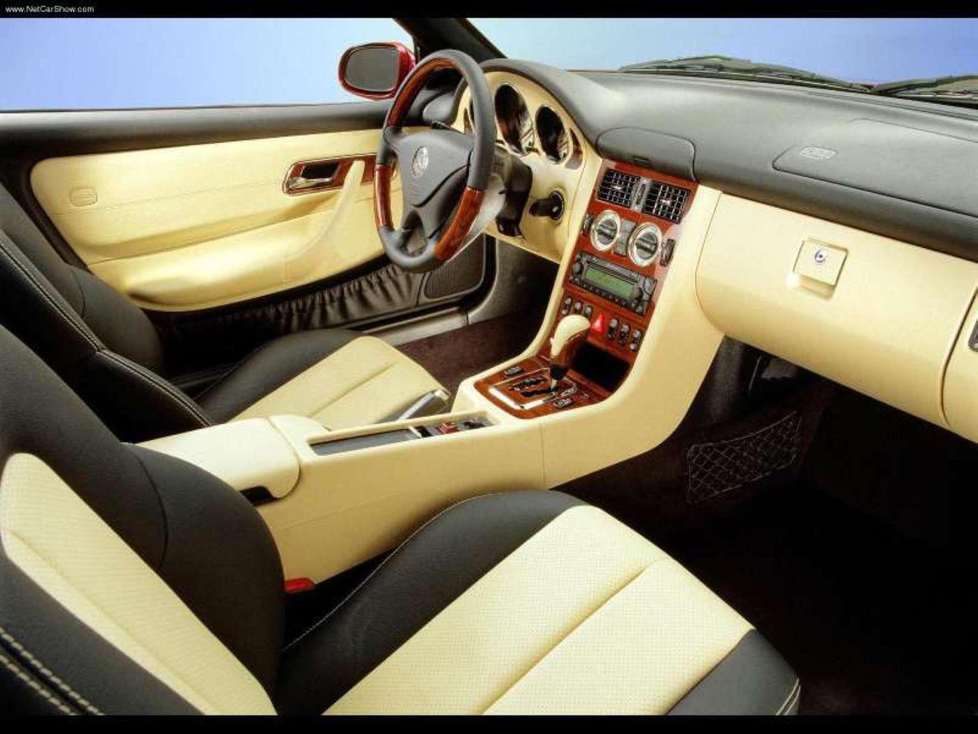 Pandemic No Appreciation Mercedes-Benz R170 SLK interior