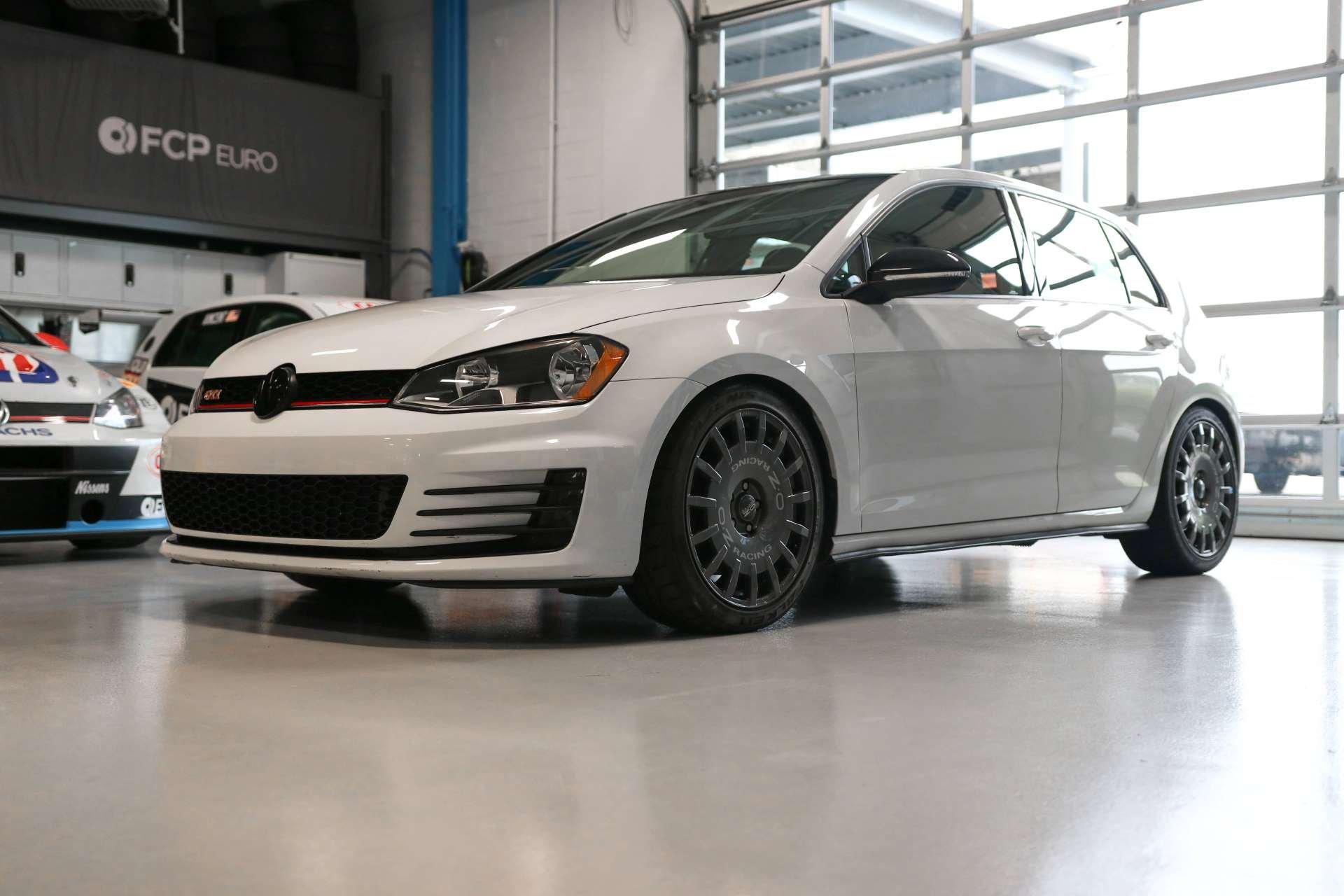 Best FWD Under $25k Volkswagen GTI Mk7 front three-quarter