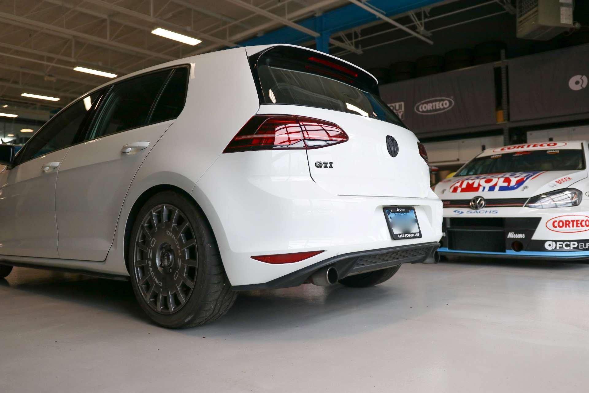 Best FWD Under $25k Volkswagen GTI Mk7 rear three-quarter