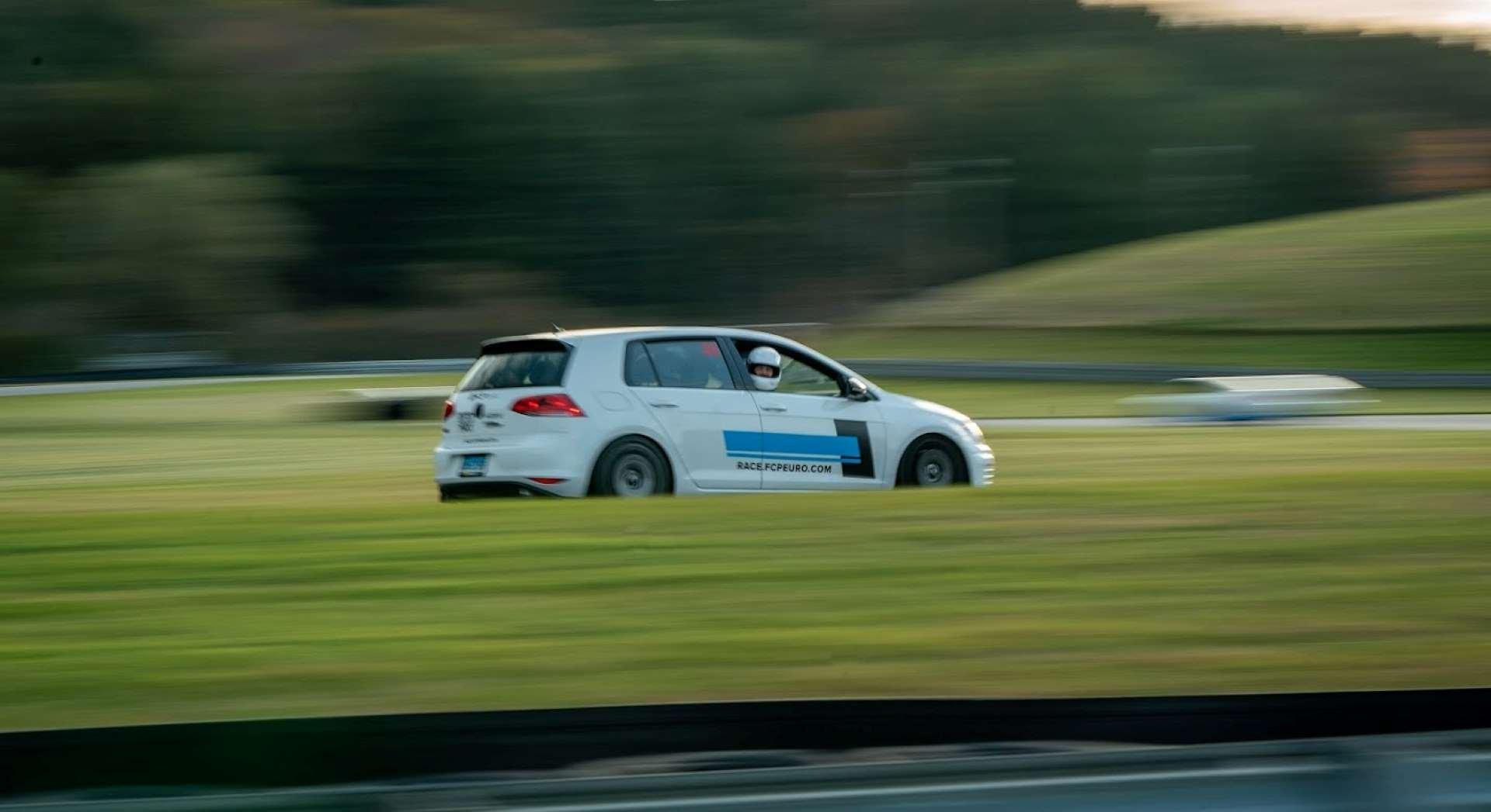 Best FWD Under $25k Volkswagen GTI Mk7 on track