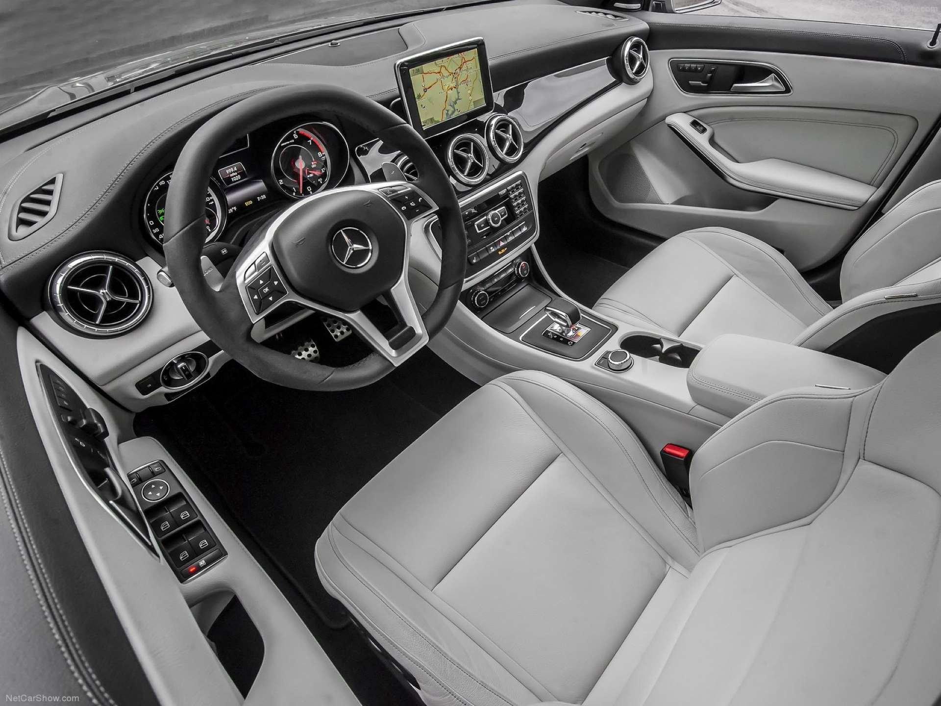 Best FWD Under $25k Mercedes-Benz CLA250 interior
