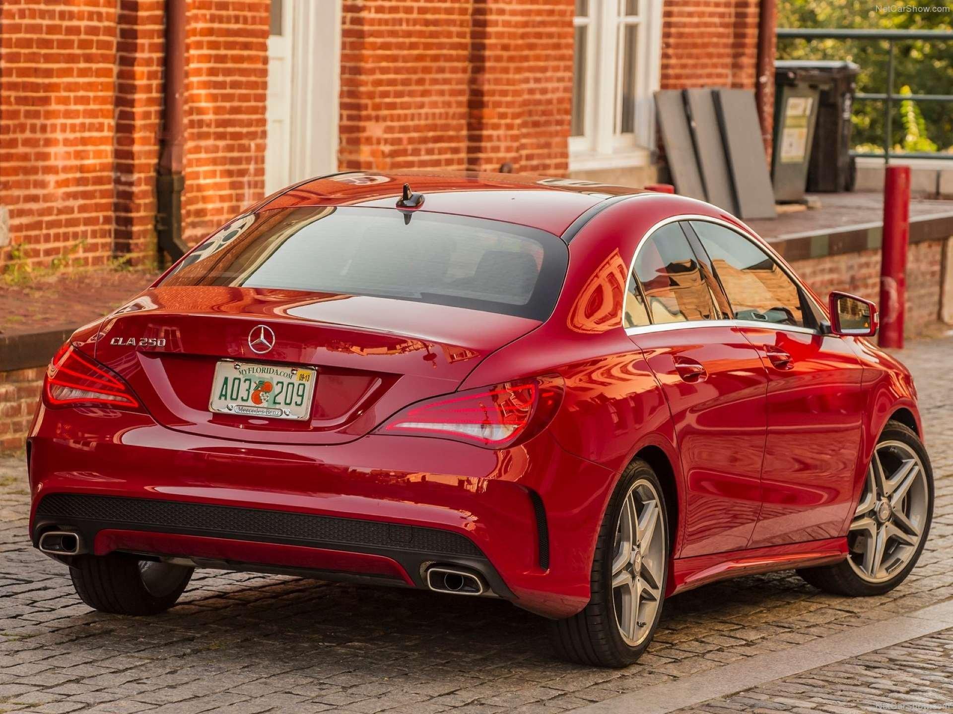 Best FWD Under $25k Mercedes-Benz CLA250 rear three-quarter