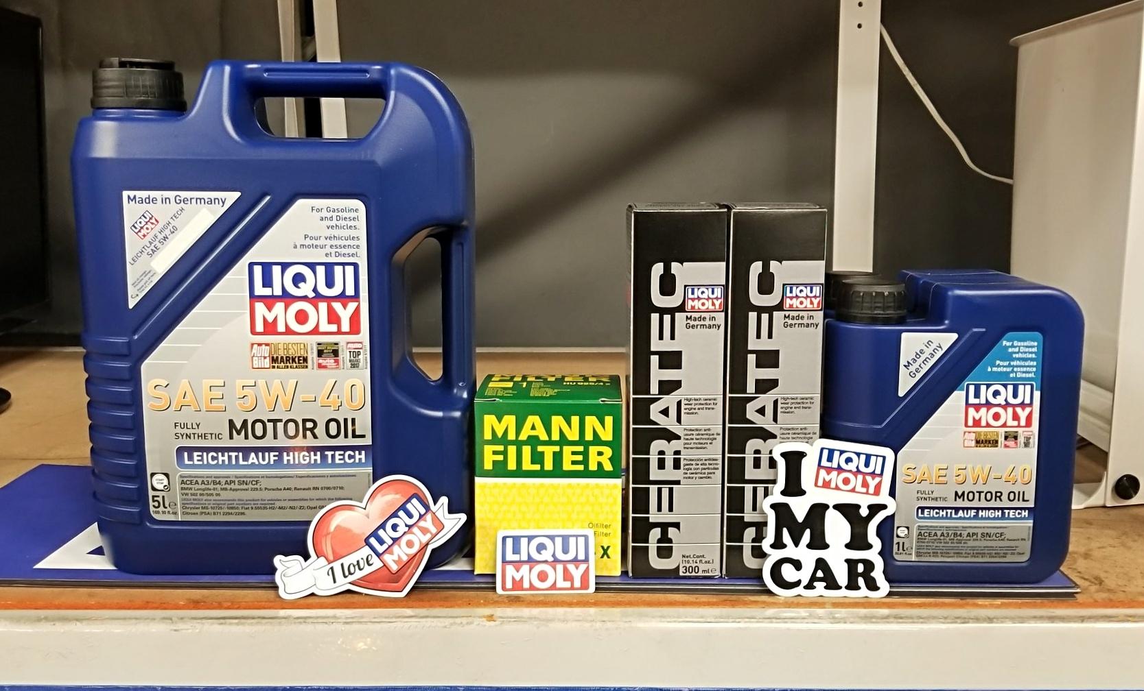 Liqui Moly Oil Change Kit & Additives