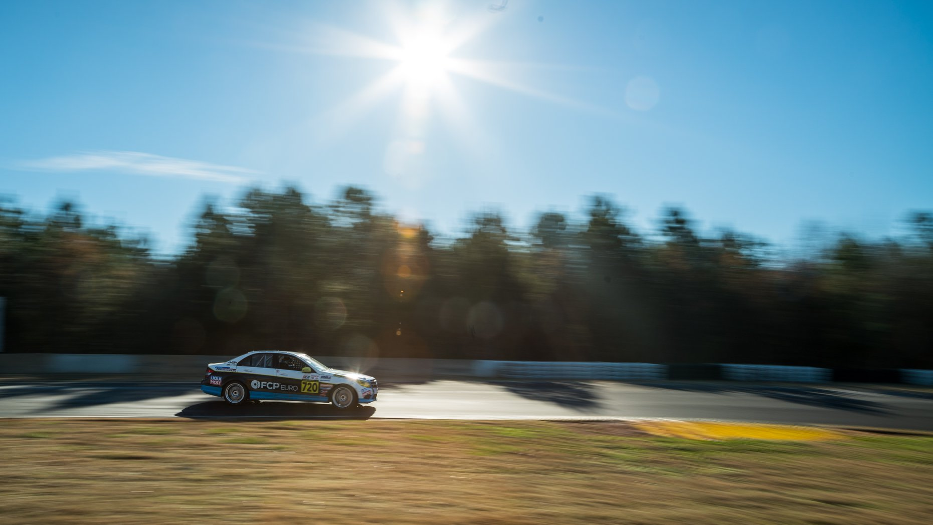 Mercedes C300 at Road Atlanta