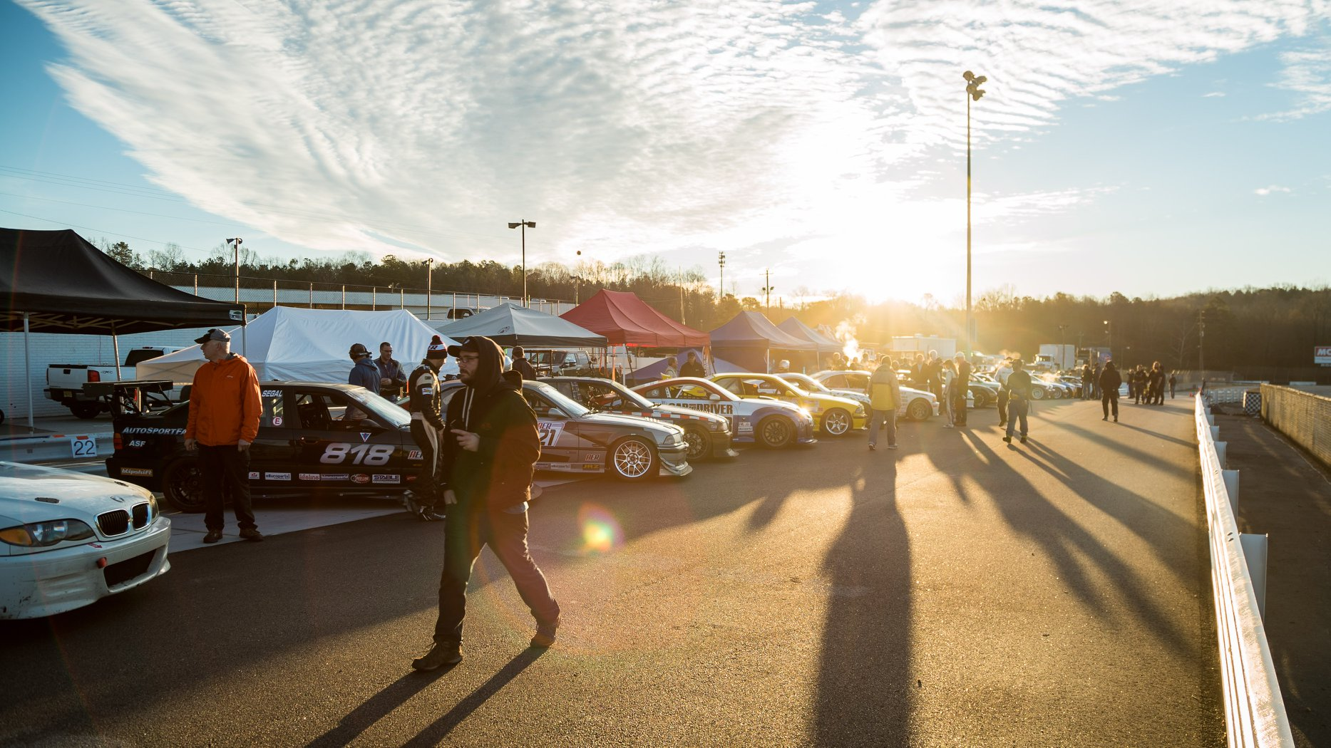 Sunrise at Road Atlanta