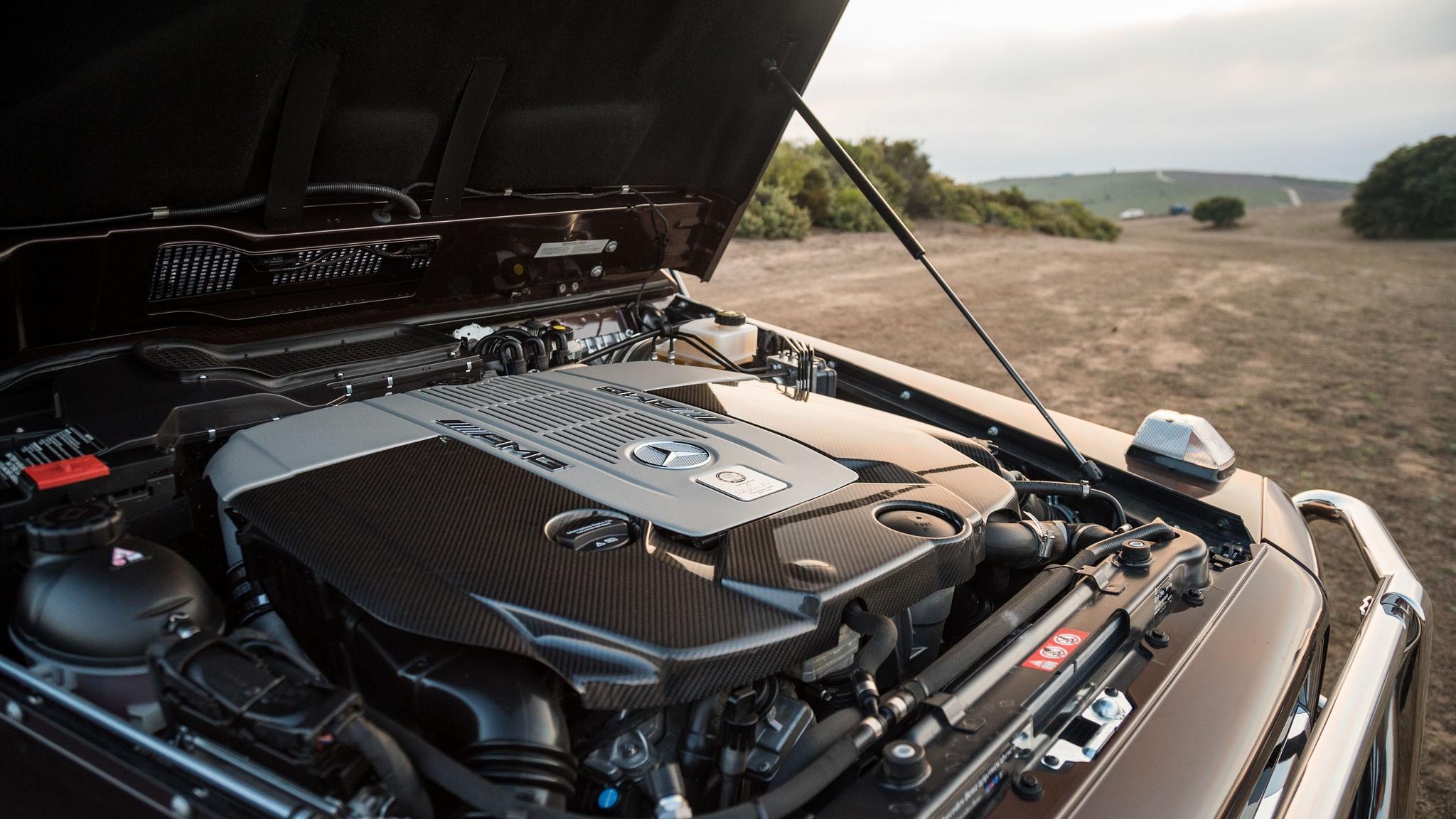 Mercedes G65 AMG Engine