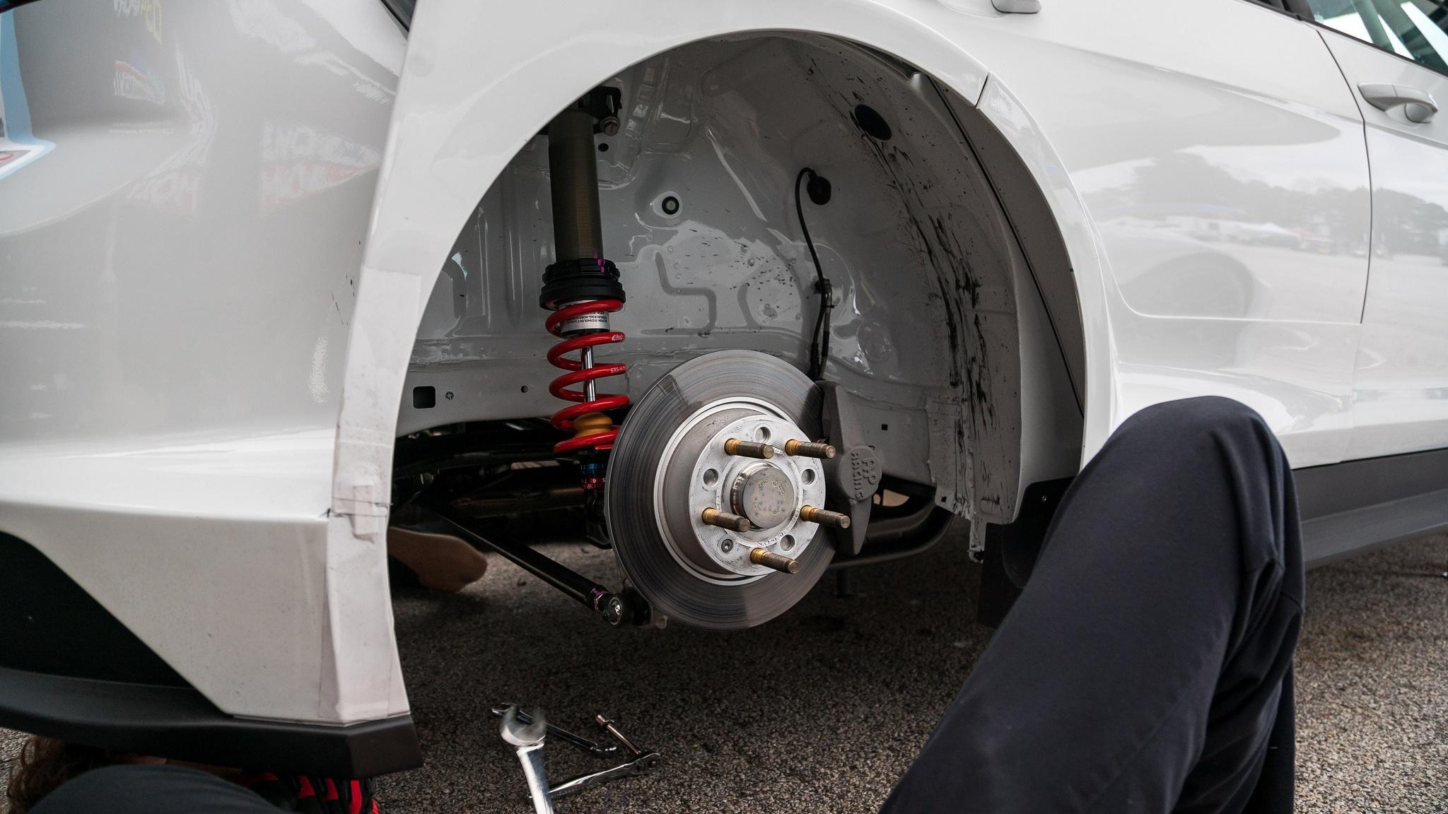 2018 Volkswagen GTI TCR Suspension