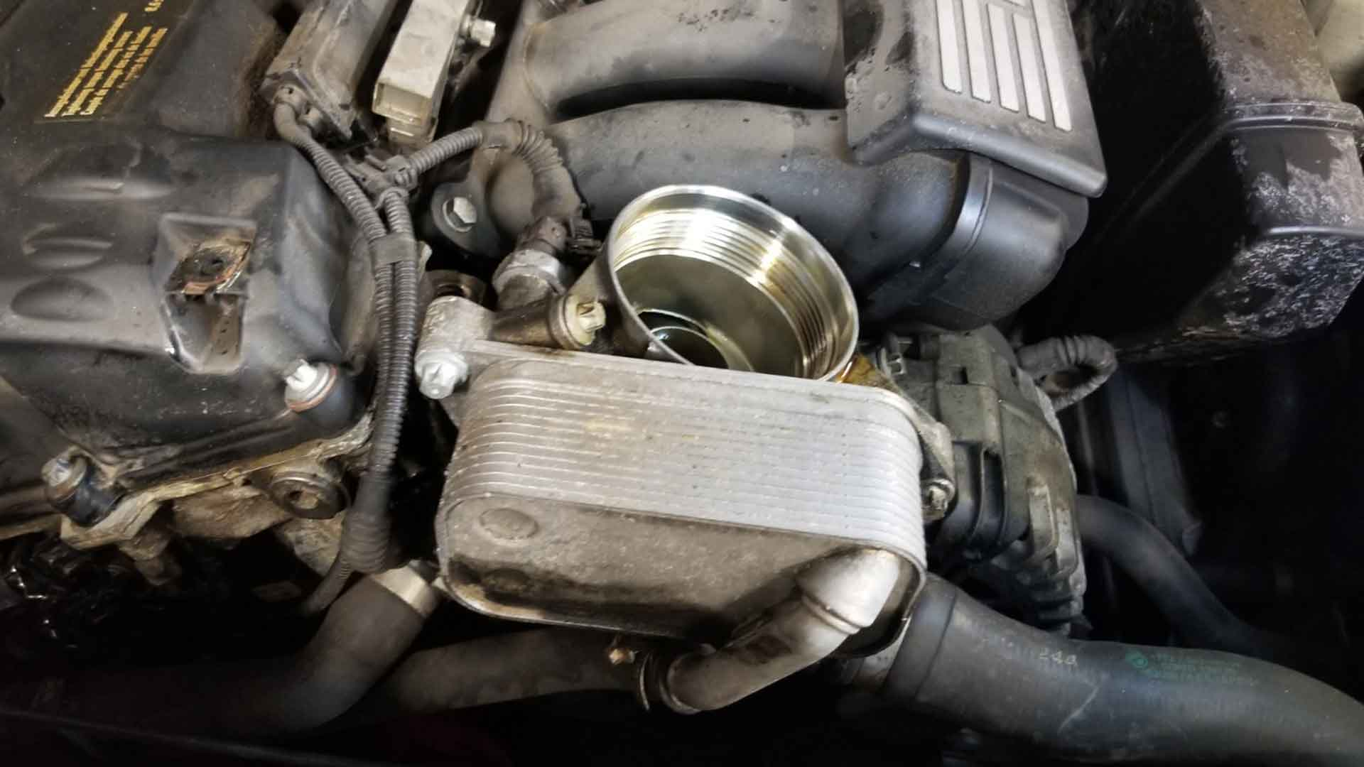 How To Fix A Leaky Oil Filter Housing On An N51, N52, N54