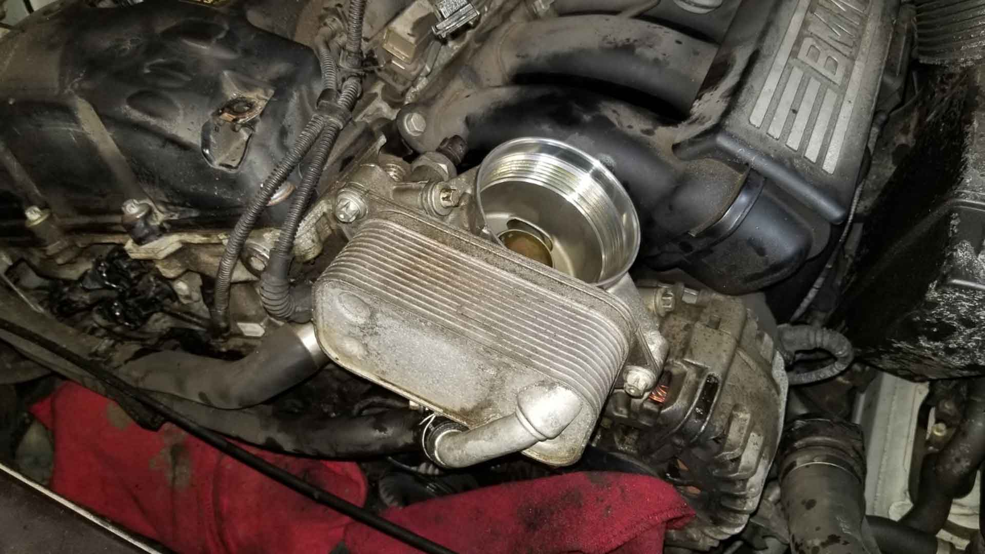 BMW Oil Filter Housing Leak