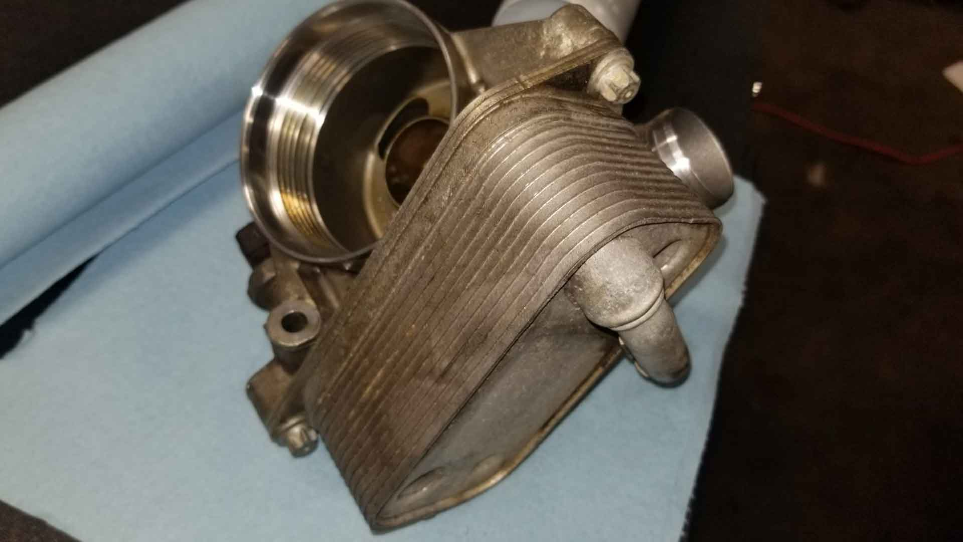 BMW Oil Filter Housing