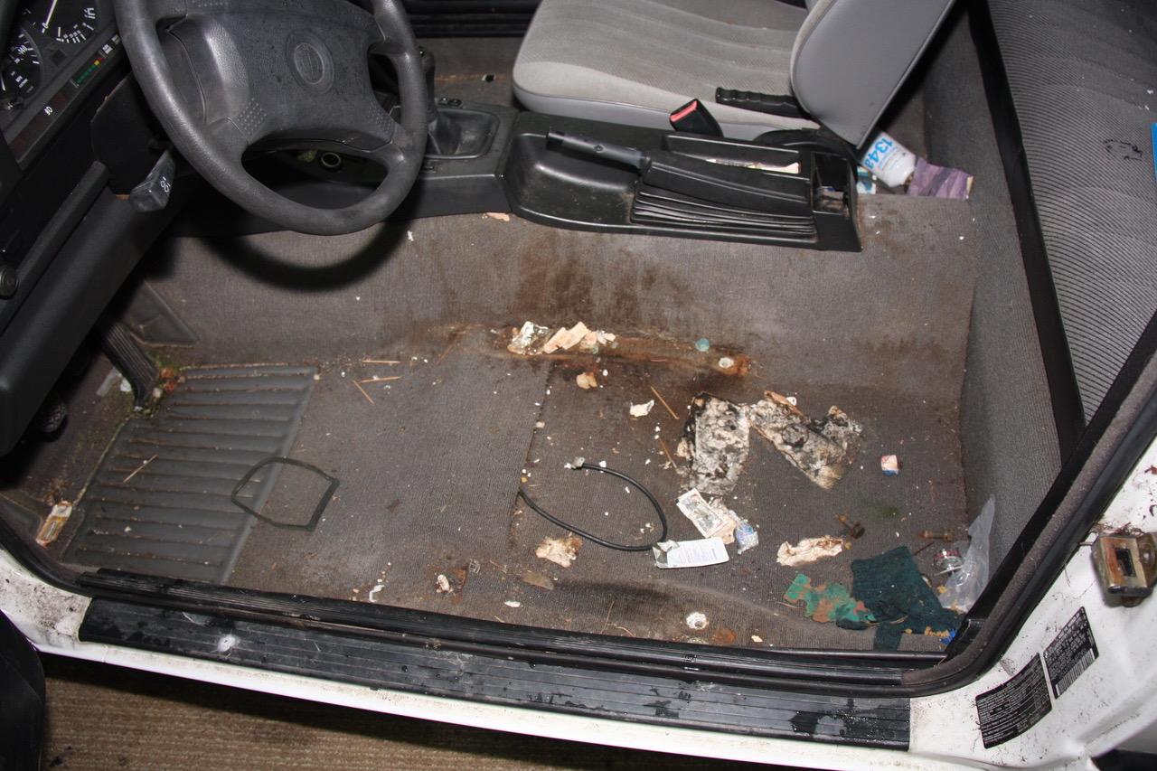 GRM E30 dirty - interior