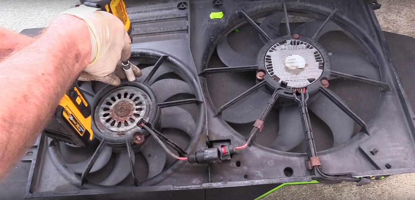 Cooling Fan 10mm Nuts