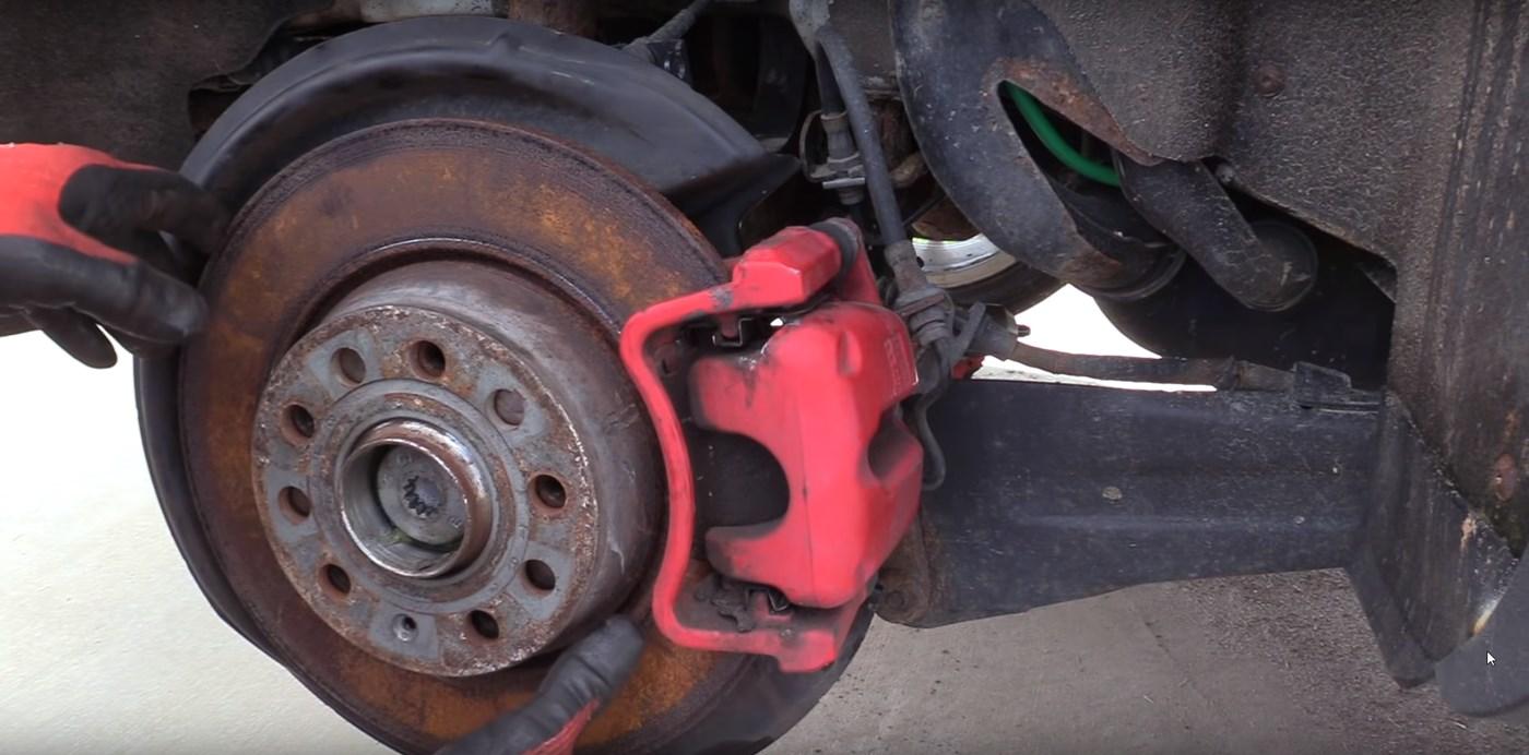 GTI Rusted Brakes