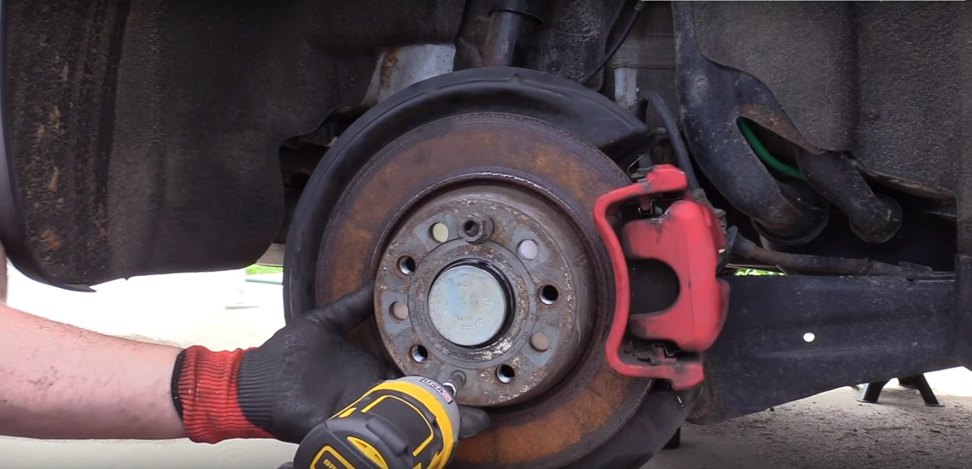 mkv gti rear wheel bearing replacement