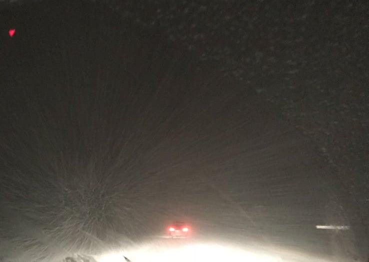 Volkswagen Golf In The Snow