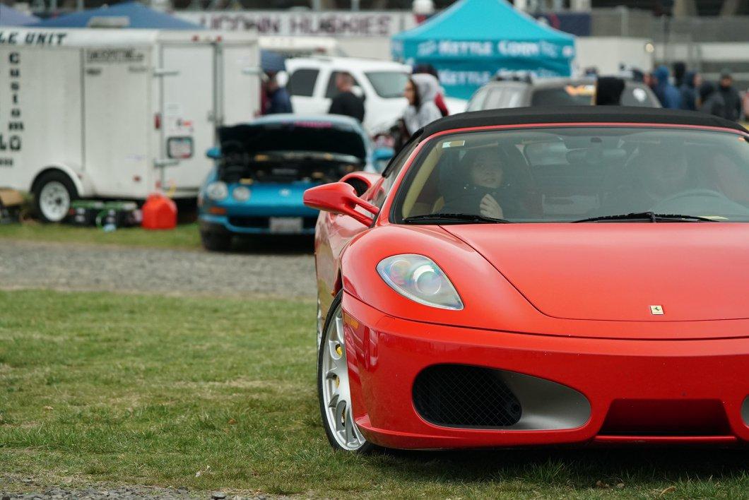 It's a Red Ferrari