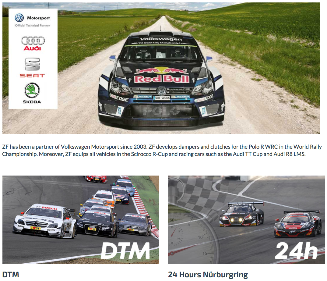Sachs Performance VW Motorsport