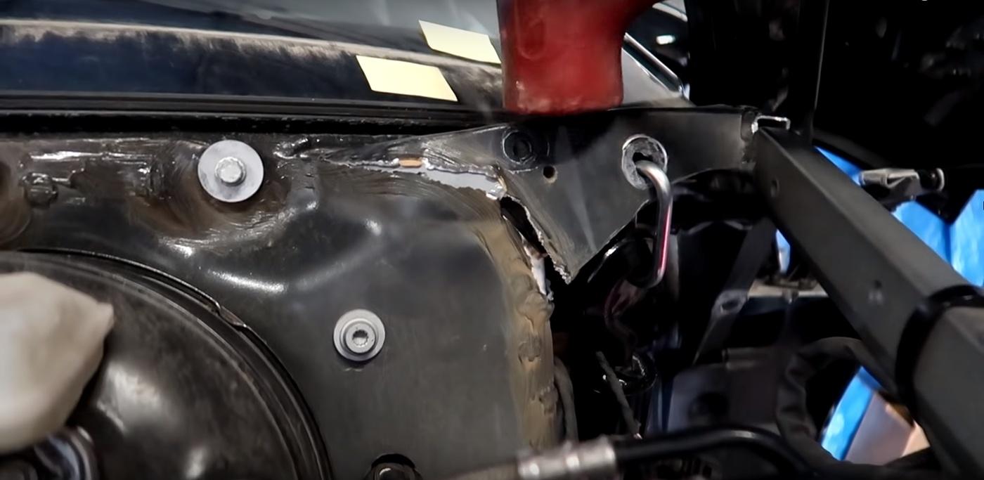 Samcrac Audi R8 Chassis Crack