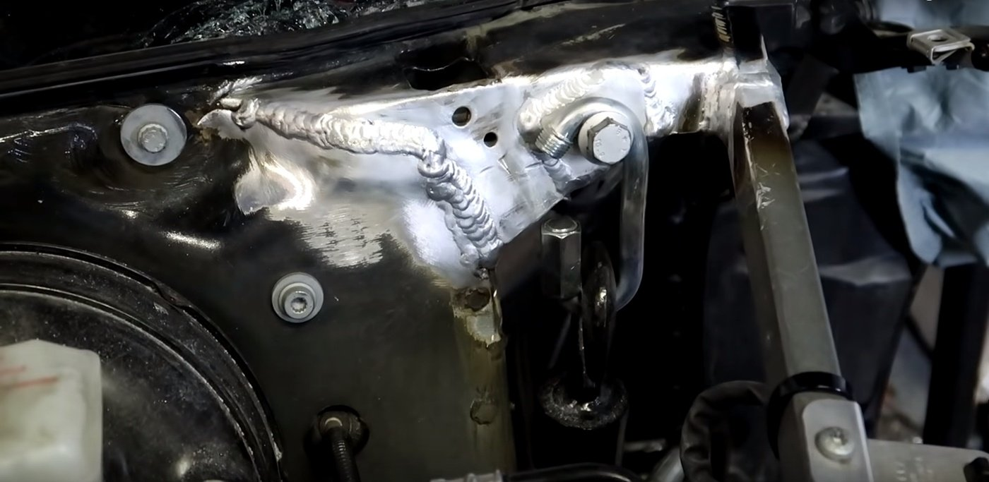 Samcrac Audi R8 Chassis Crack Fix
