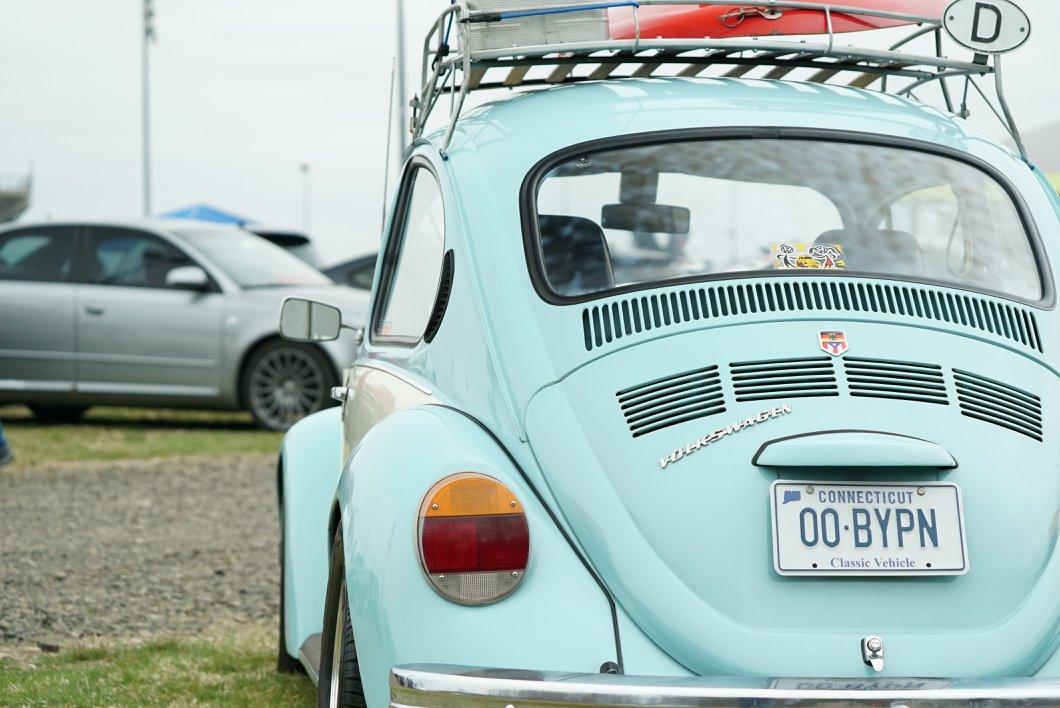 Teal VW Bug