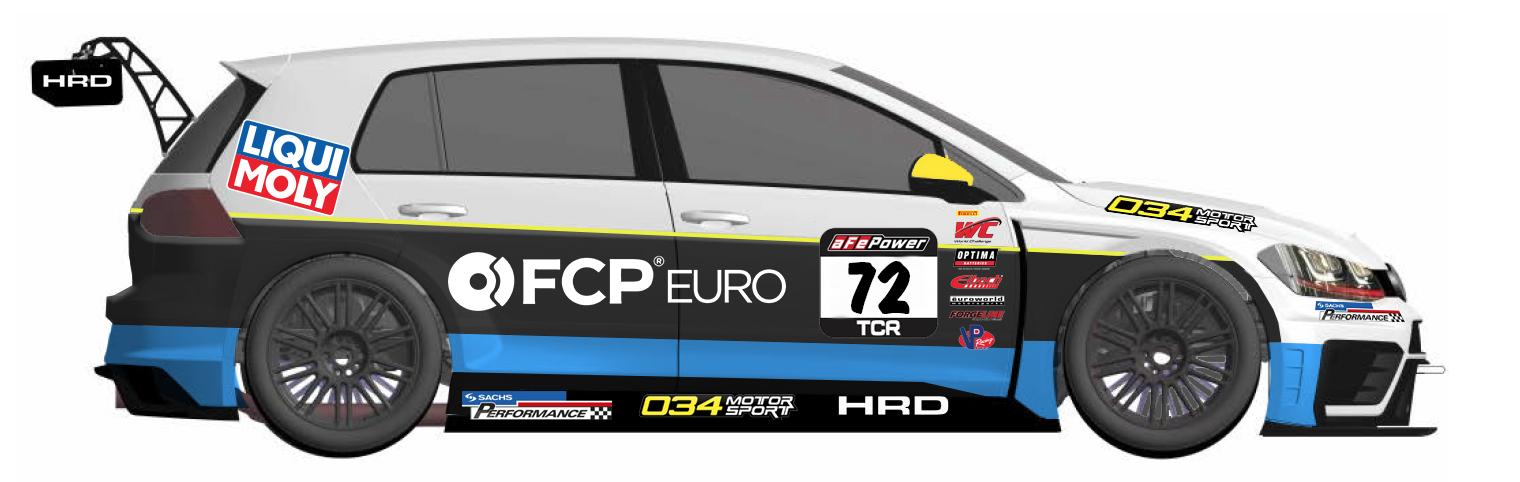 VW GTI TCR - FCP Euro - Sachs Performance