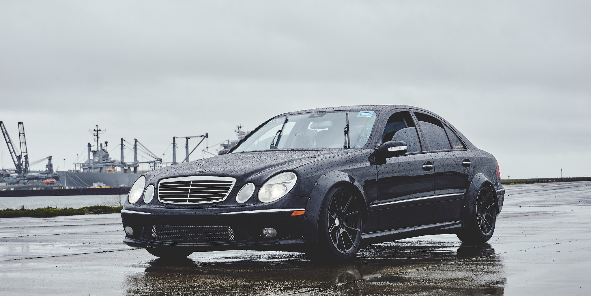 Weekend Wallpaper: 2003 W211 Mercedes-Benz E55 AMG Edition