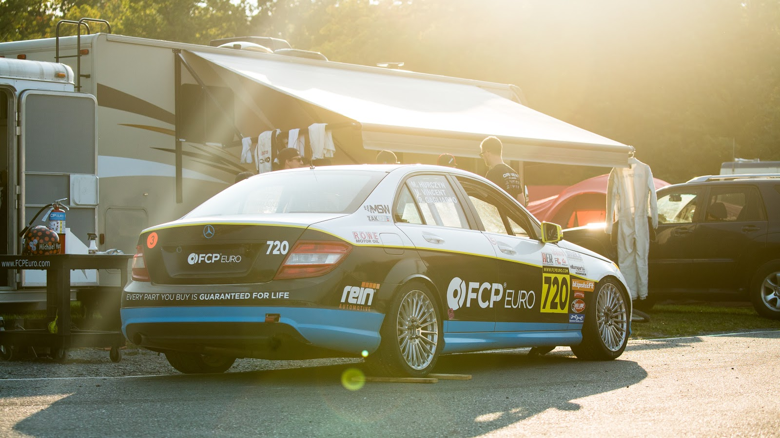 Mercedes C300 Race Car