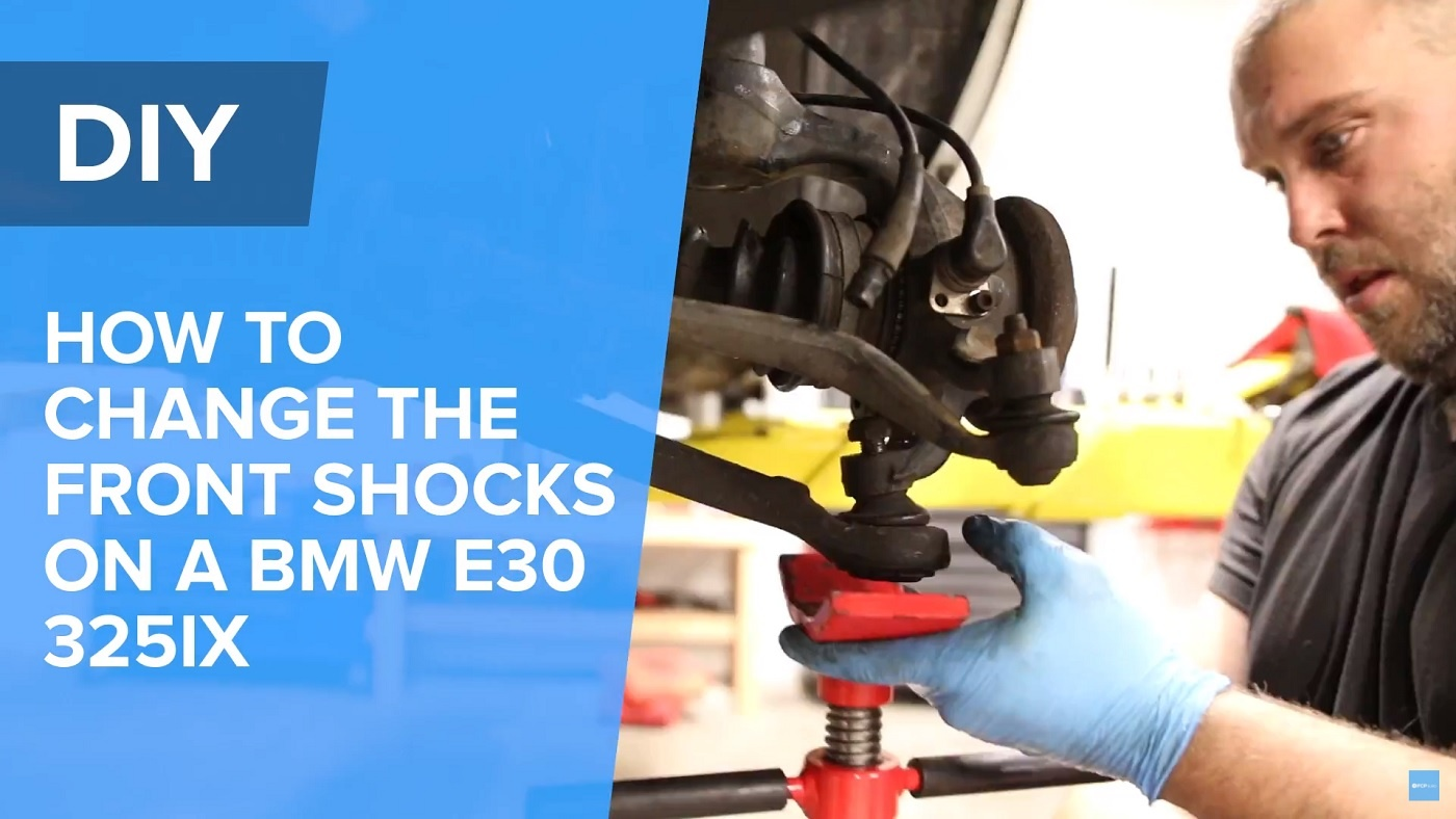 How To Replace The Front Struts On A BMW E30
