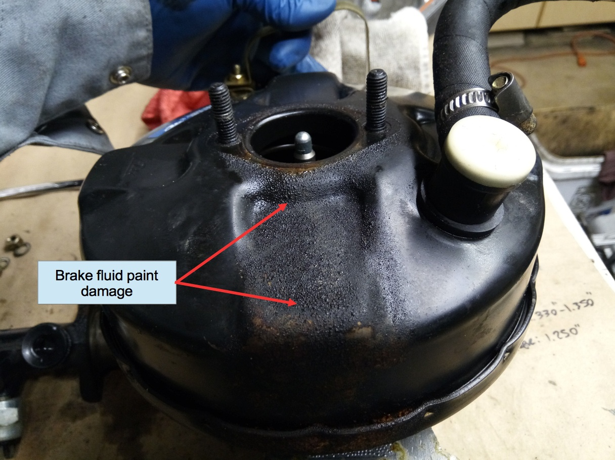 Air-cooled Porsche 911 brake booster.
