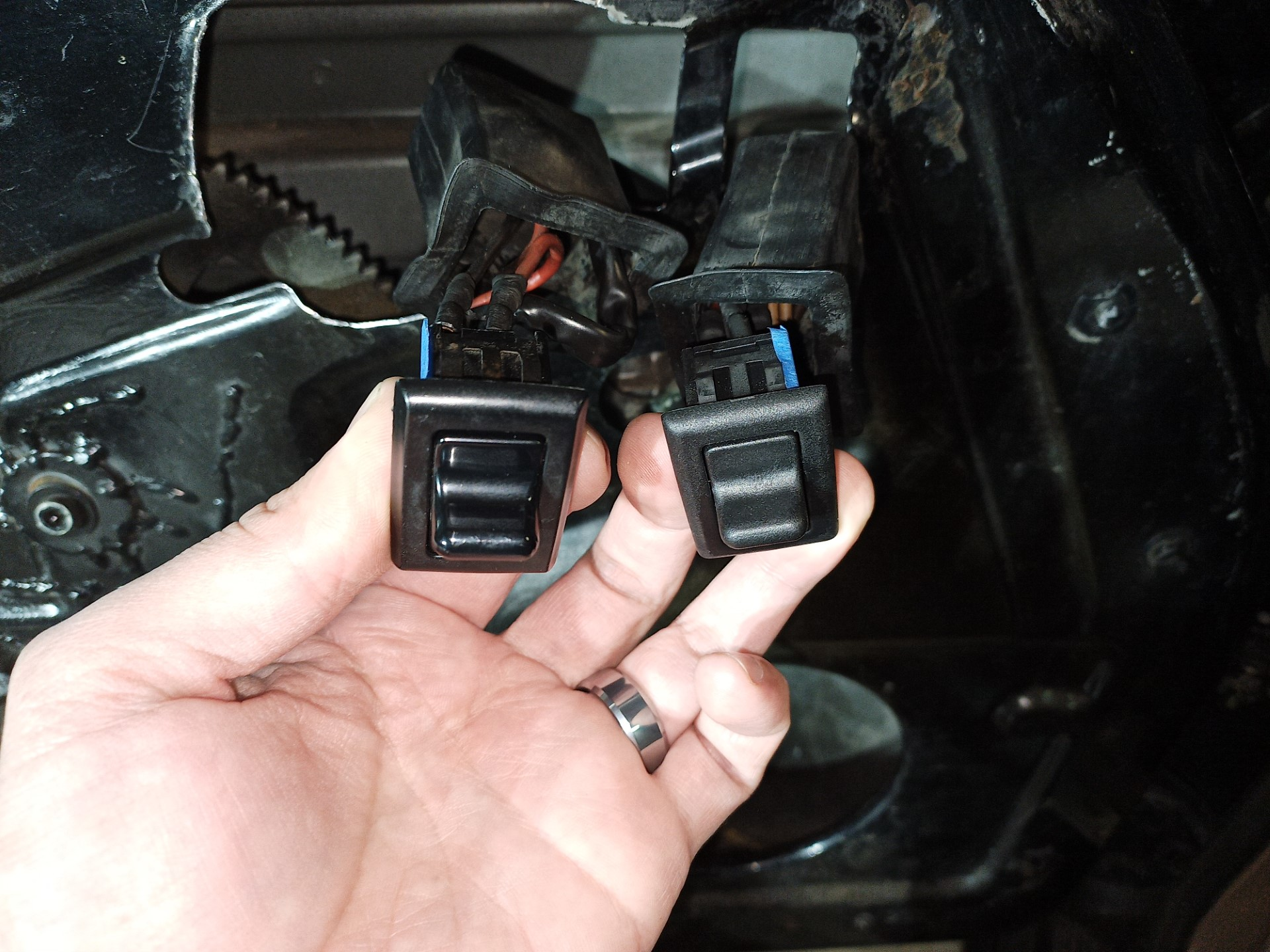 air-cooled porsche 911 window switches replacement