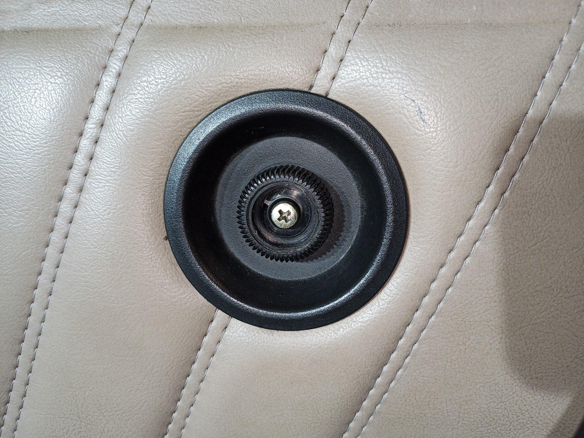 air-cooled porsche 911 door lock knob removal