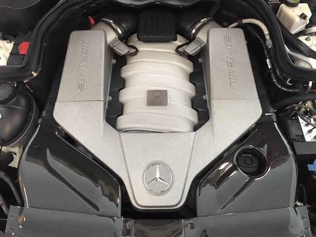Mercedes M156 Engine Bay