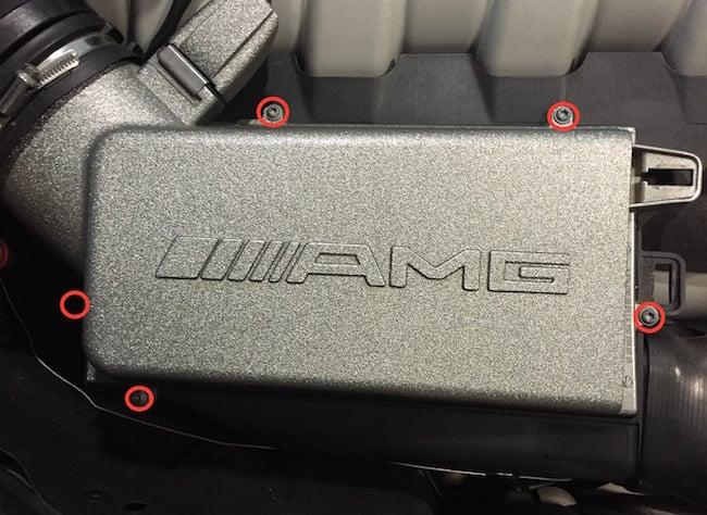 Mercedes M156 Engine Airbox Cover Torx Screws