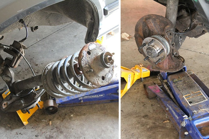 Lower and support strut assembly