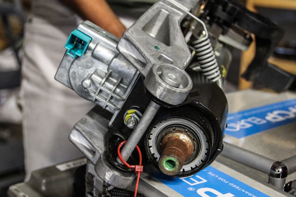 Mercedes Electronic Steering Lock Failure - Part One