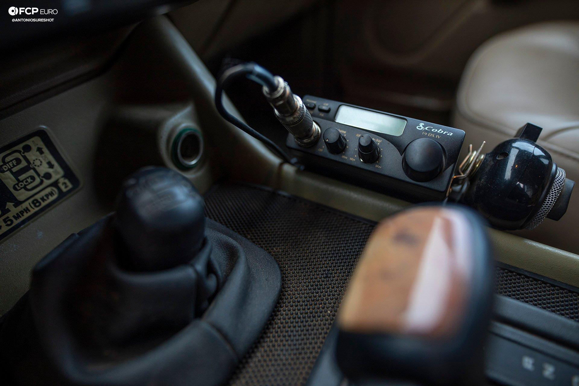 Land Rover Discovery SD Cobra CB radio EOSR1696
