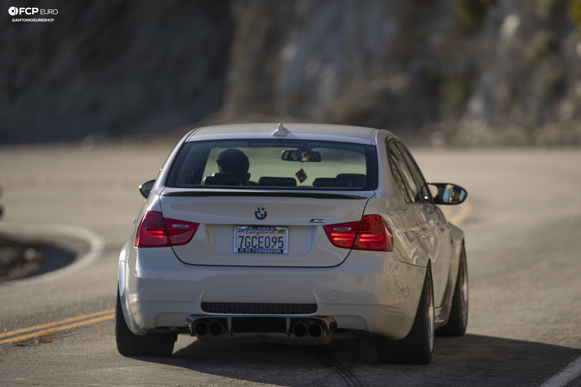 BMW E90 M3 Sedan Slicktop BBS E88 KW Suspension Taillights