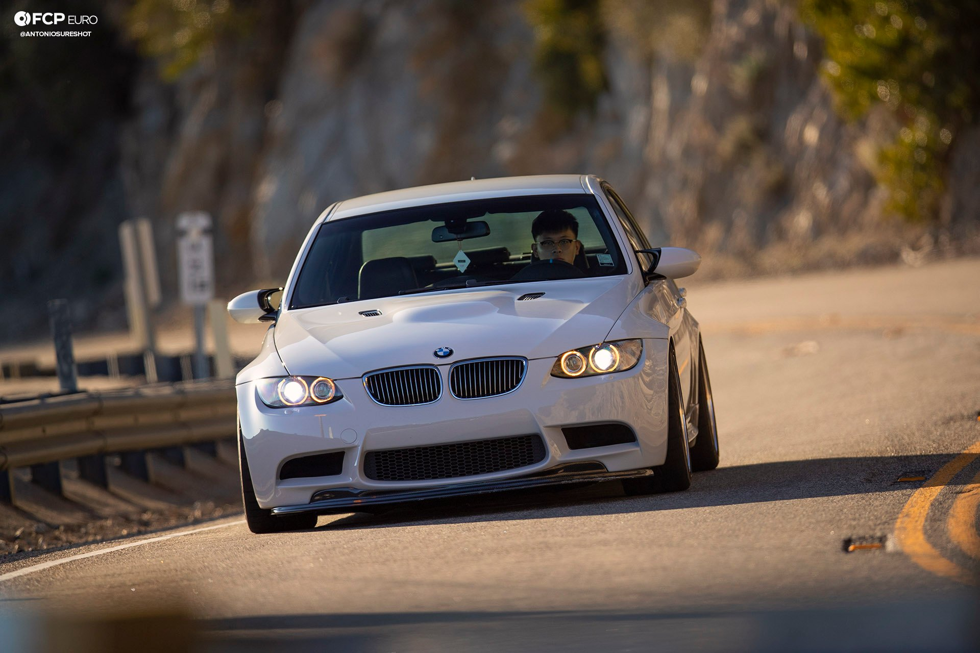 BMW E90 M3 Sedan Slicktop BBS E88 KW Suspension Front