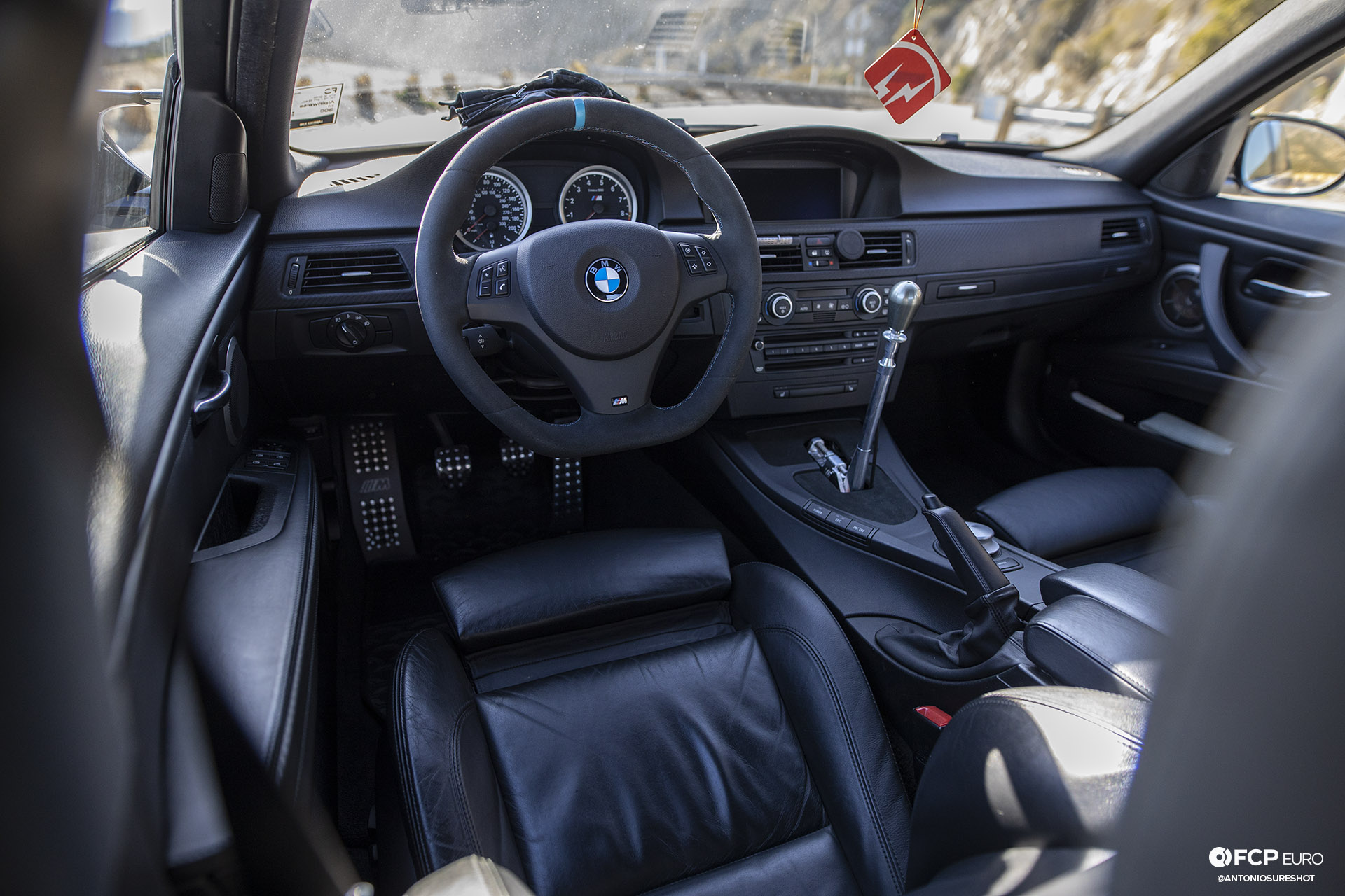 BMW E90 M3 Sedan Slicktop BBS E88 KW Suspension Interior