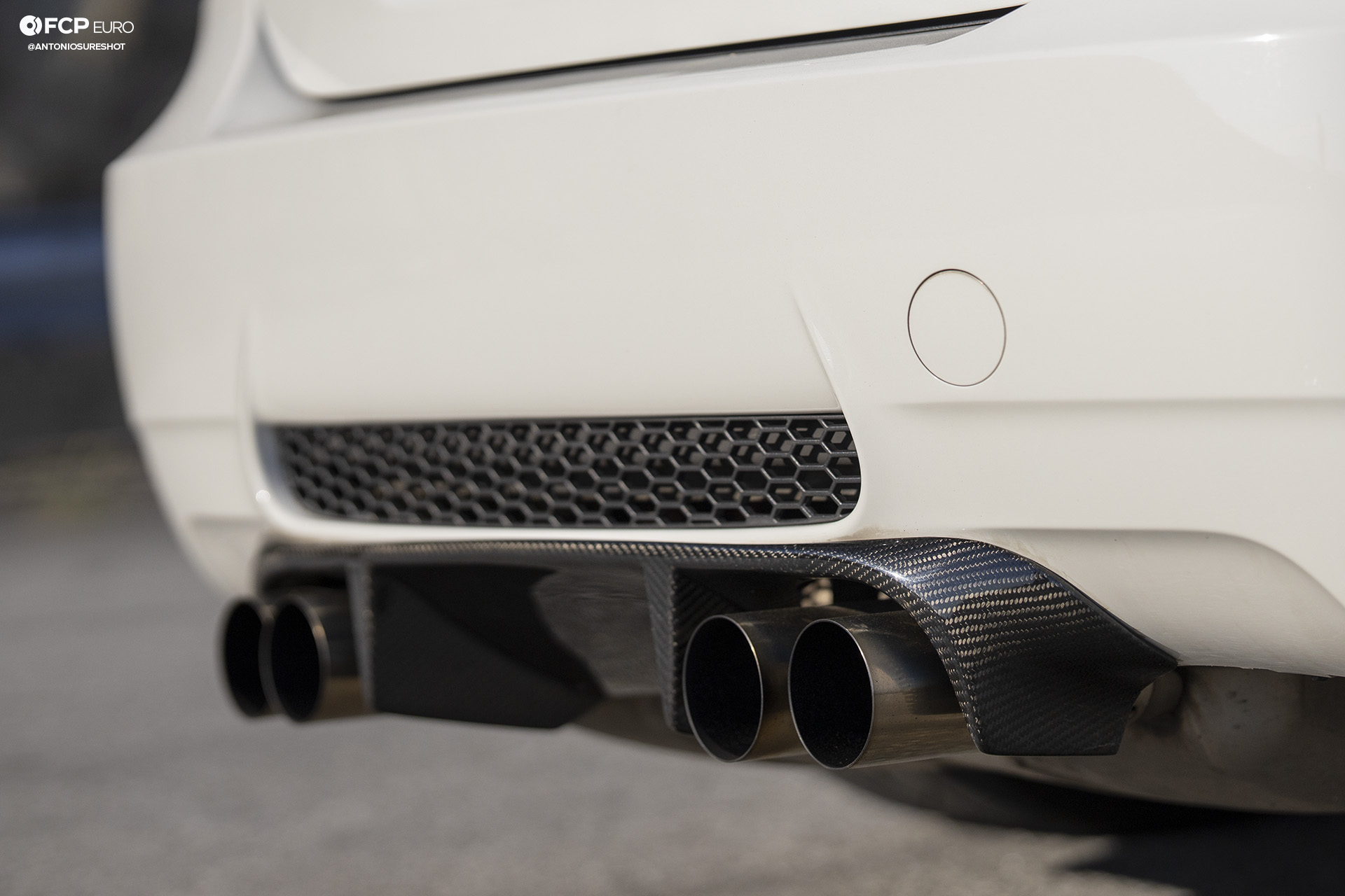 BMW E90 M3 Sedan Slicktop BBS E88 KW Suspension Diffuser