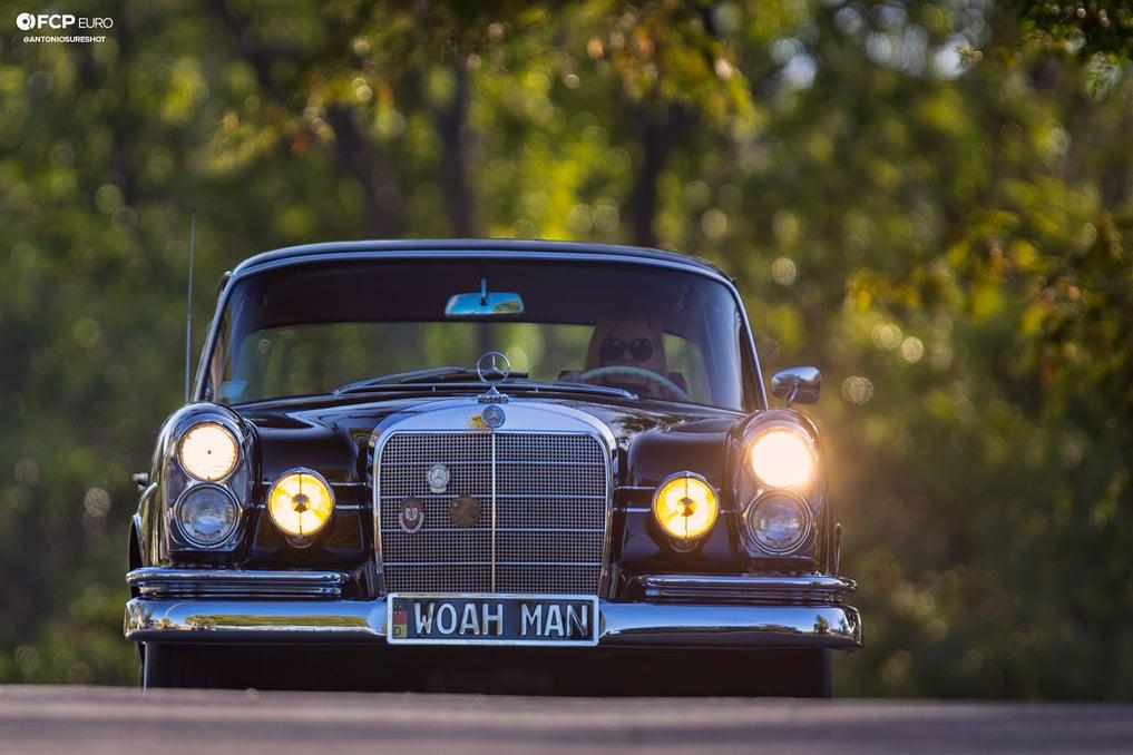Mercedes Benz 220S Heckflosse Fintail W111 Belinda Benzo 1DX21245 crop