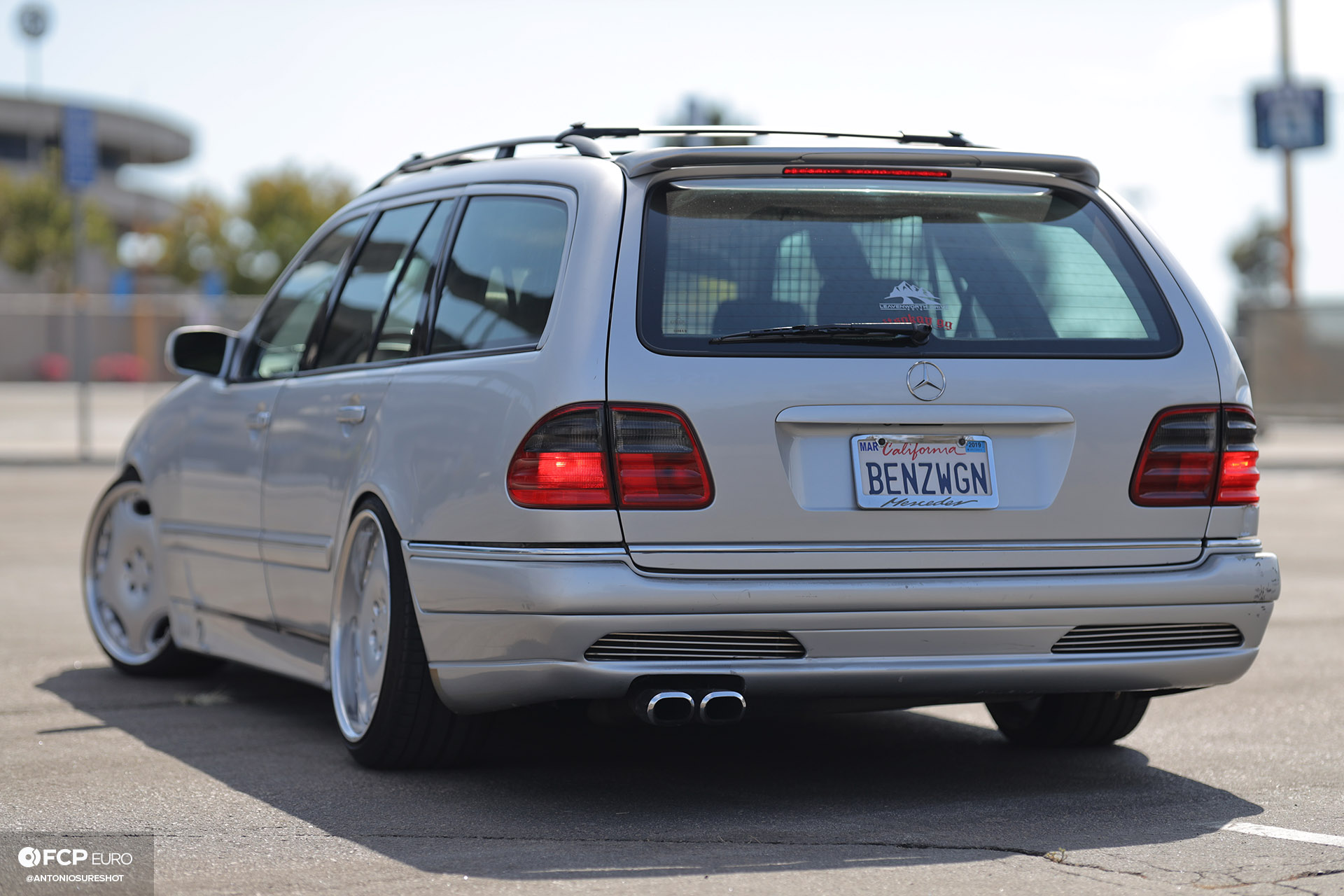 Mercedes Benz AMG E55 swapped E320 wagon 1920wm EOSR2597