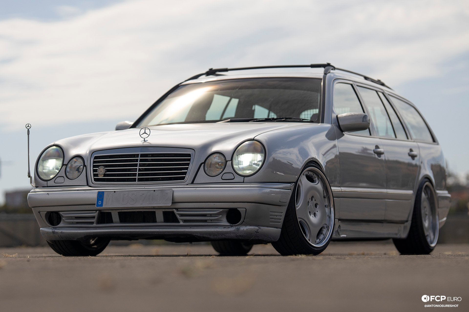 Mercedes Benz AMG E55 swapped E320 wagon 1920wm EOSR2641