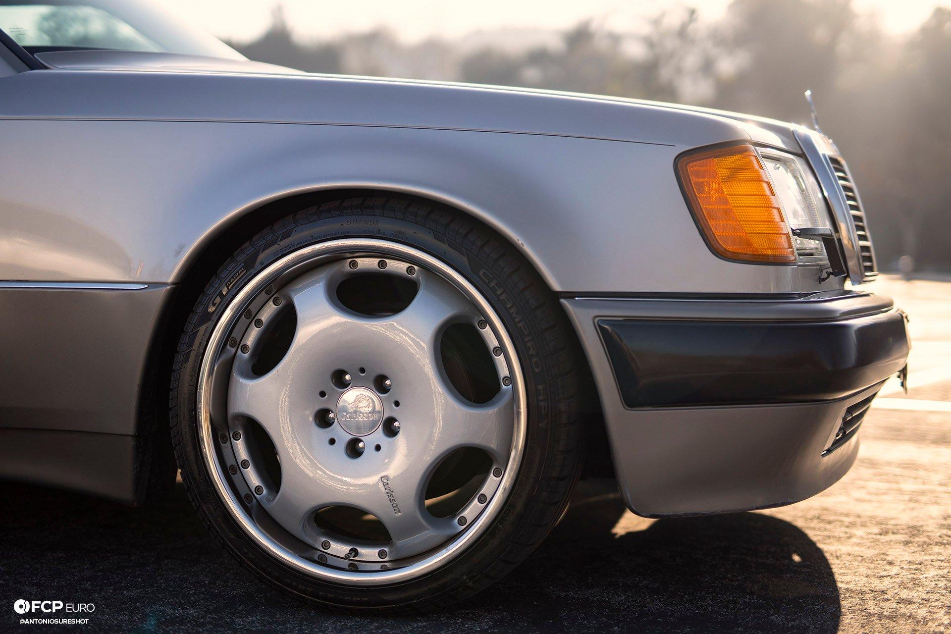 Mercedes Benz Porsche Carlsson 500E EOSR7939