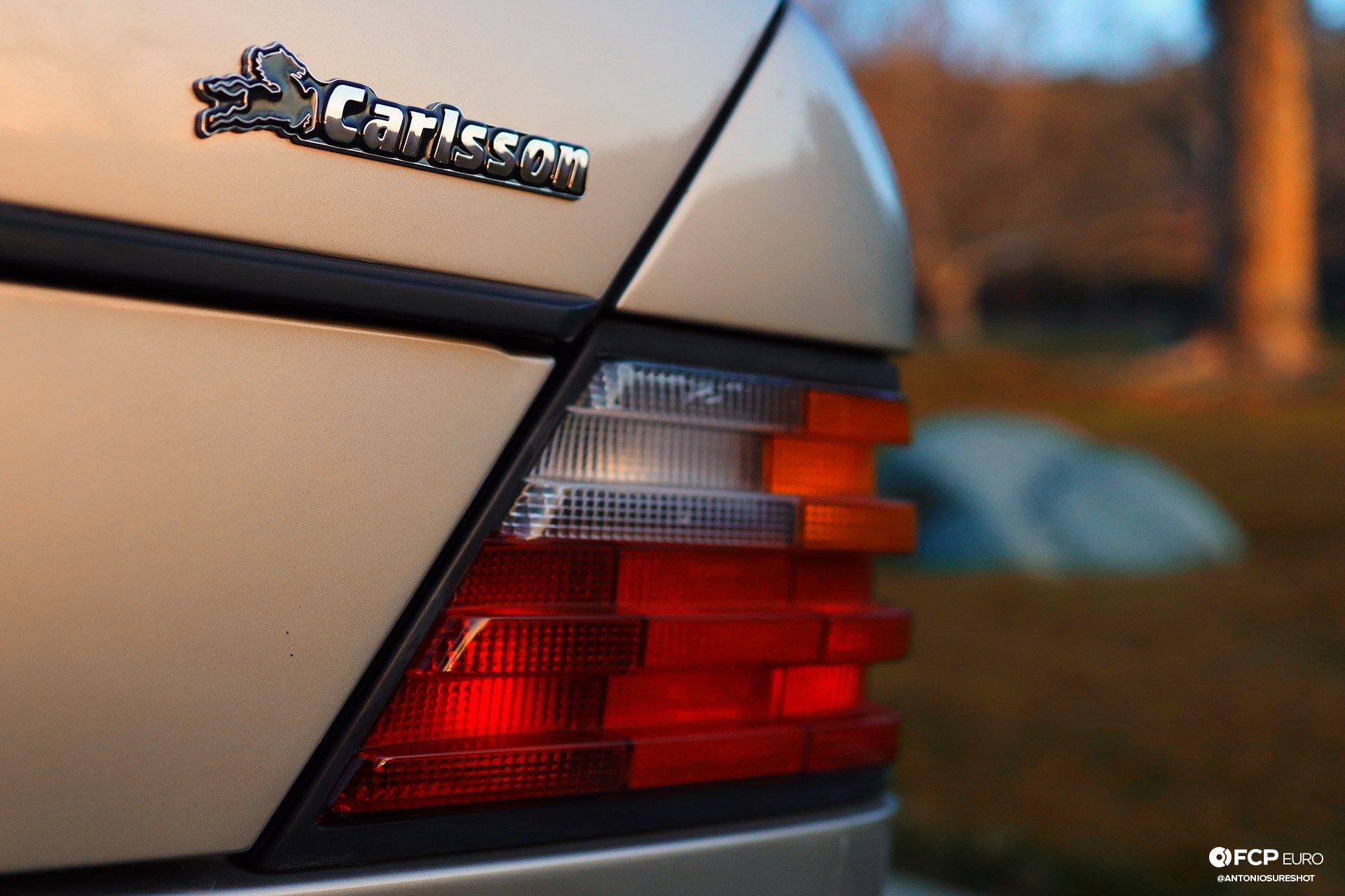 Mercedes Benz Porsche Carlsson 500E EOSR7994