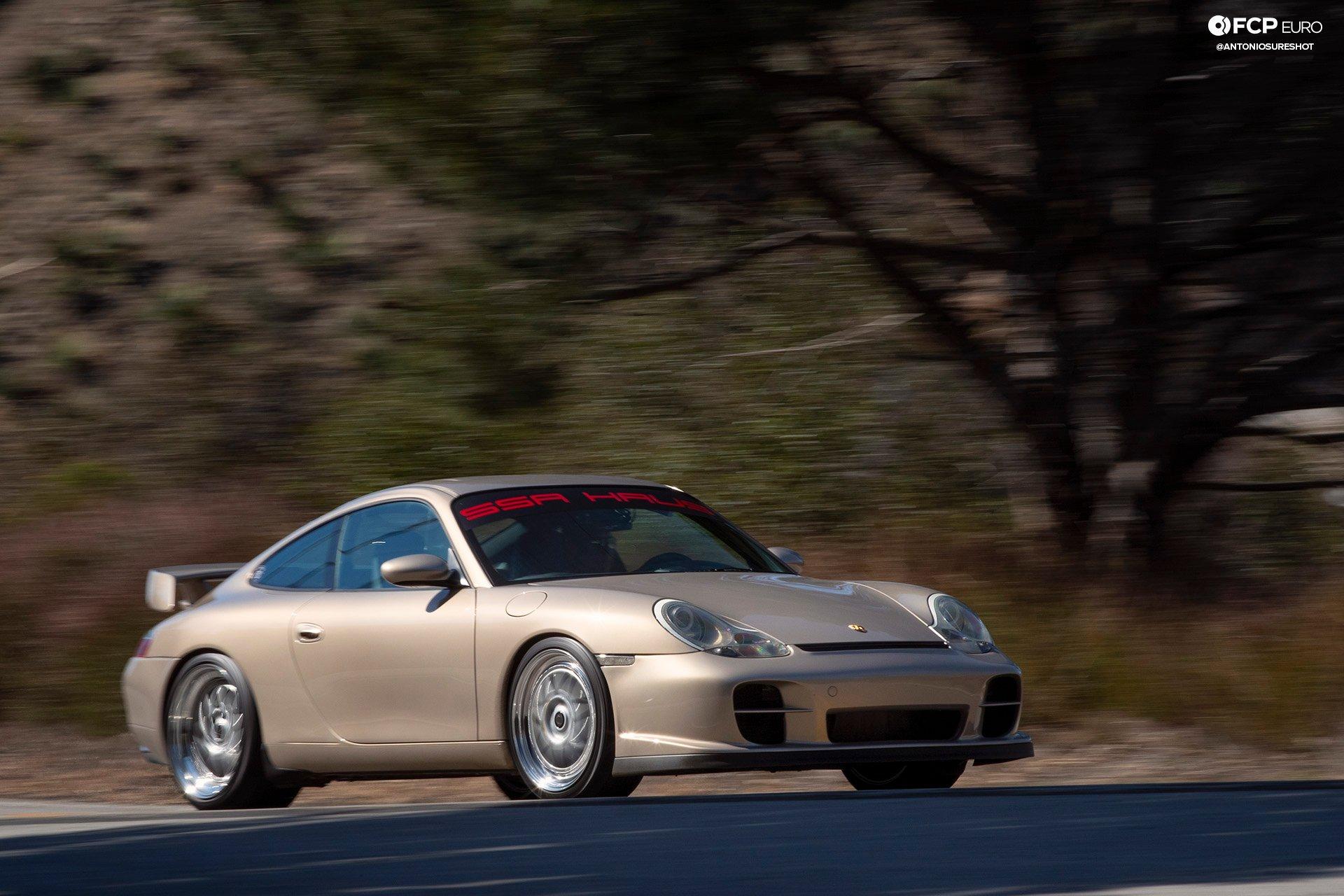 Porsche 911 996 6spd M96 Bilstein B8 Stoptech Eibach Forgestar 1DX25071
