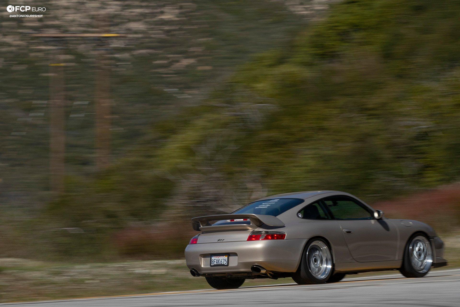 Porsche 911 996 6spd M96 Bilstein B8 Stoptech Eibach Forgestar 1DX25084