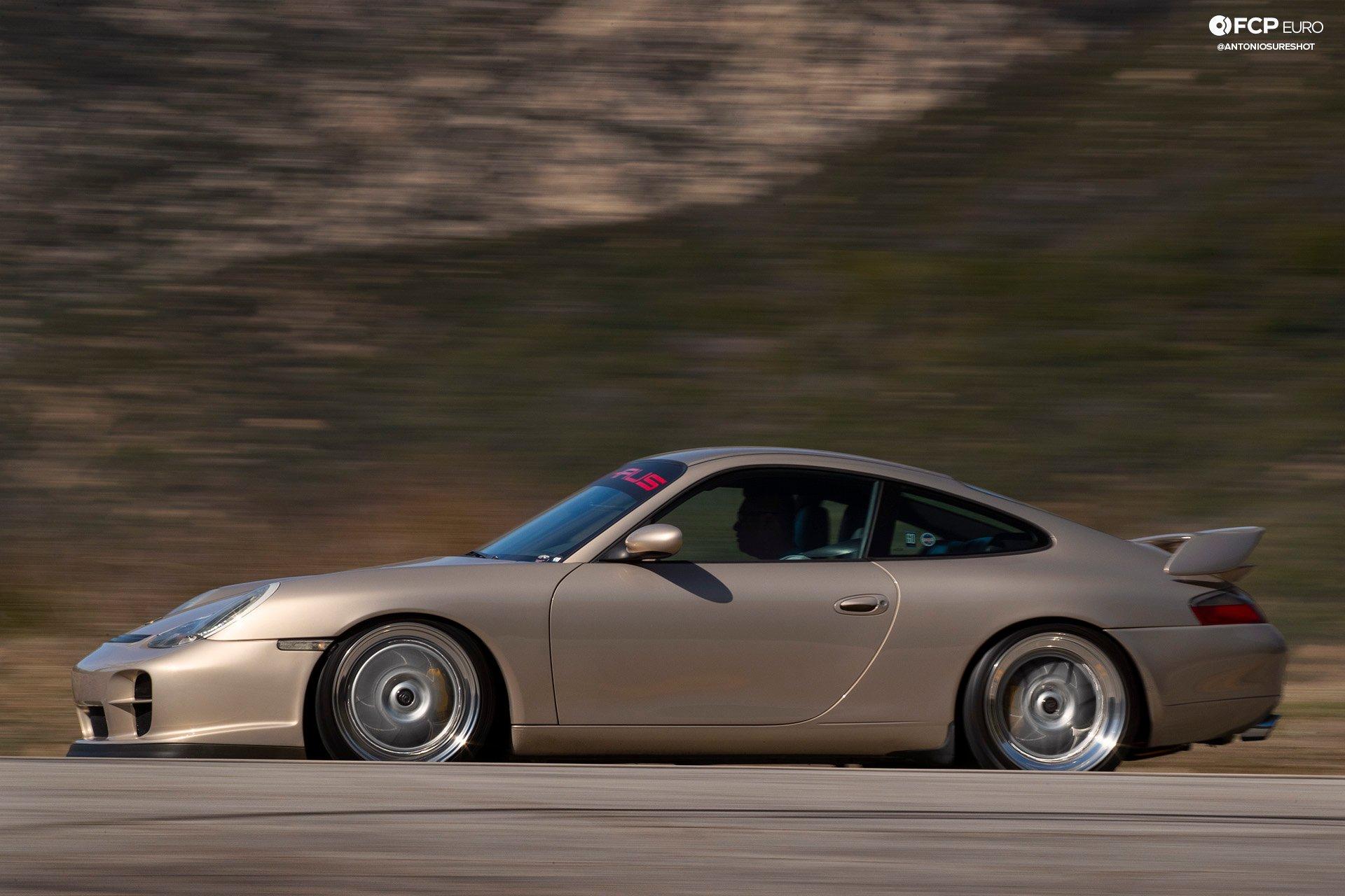 Porsche 911 996 6spd M96 Bilstein B8 Stoptech Eibach Forgestar 1DX25091