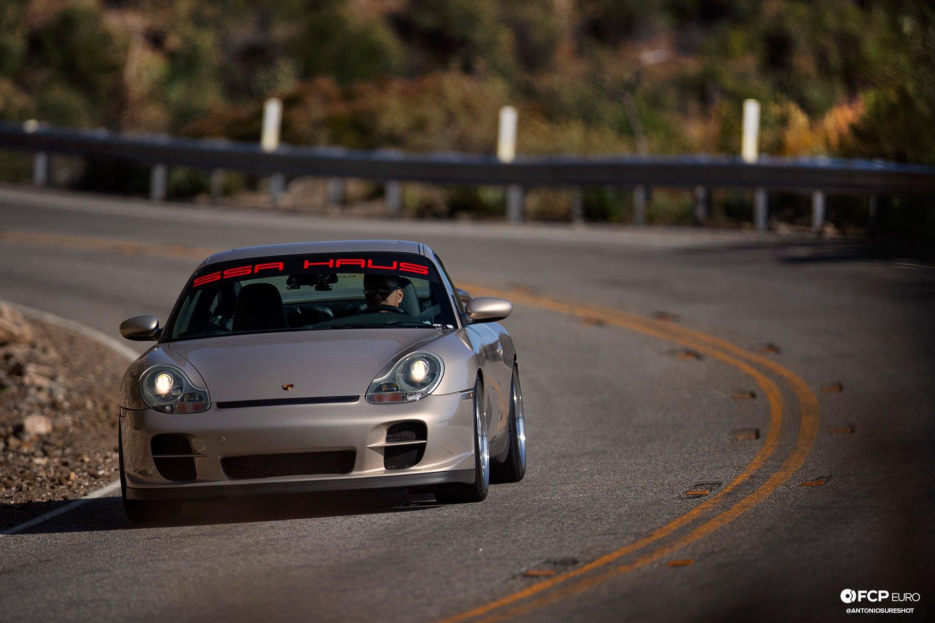 Porsche 911 996 6spd M96 Bilstein B8 Stoptech Eibach Forgestar ANT25947