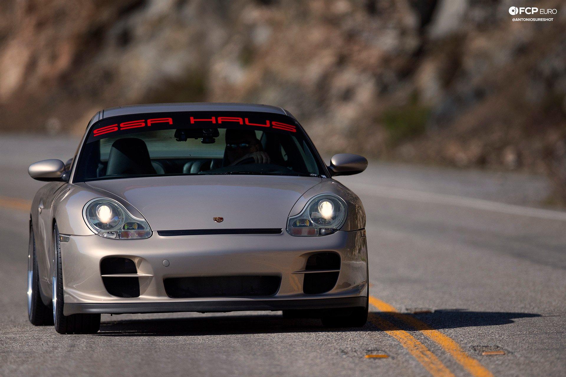 Porsche 911 996 6spd M96 Bilstein B8 Stoptech Eibach Forgestar ANT25956